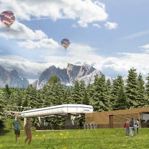 Cortina Cinque Torri verano