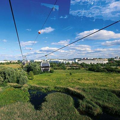 GD10 Seilbahn Gärten der Welt