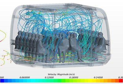 Concepto de ventilación