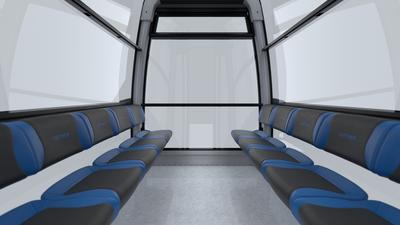 Breitere Sitzflächen