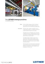 The LEITNER Underground Drive