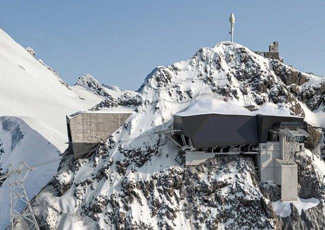 Am Klein Matterhorn entsteht die höchste Seilbahnüberquerung der Alpen