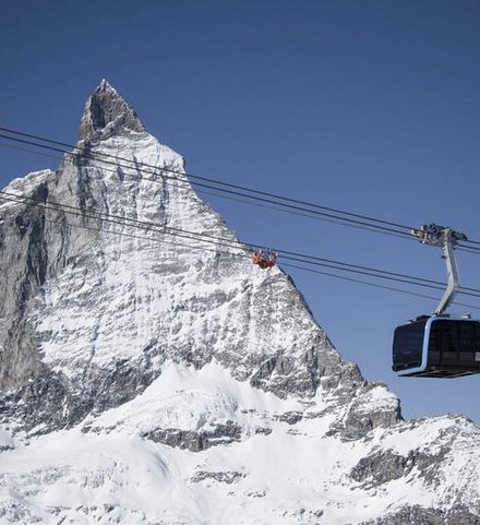 Matterhorn glacier ride Zermatt Switzerland