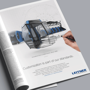 Customization is part of our Standards - New advertising campaign