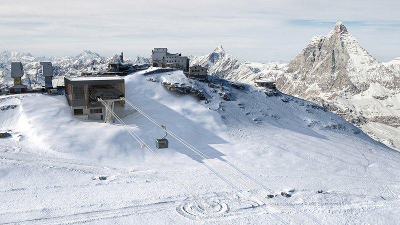Station Matterhorn glacier ride 2