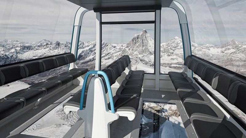 Matterhorn glacier ride 2 Interior