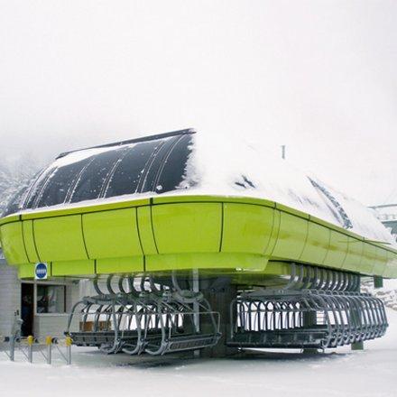 The LEITNER station garaging system