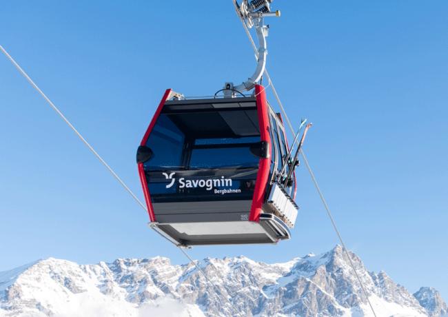 Neue Kabinenbahn macht Schweizer Skiort Savognin noch familienfreundlicher