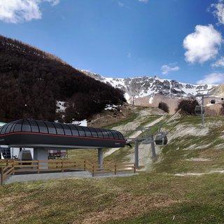 Roccaraso Pallottieri estación inferior