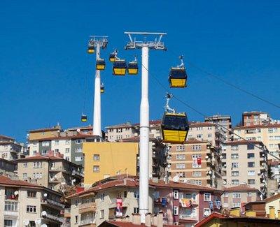 Le plus grand téléphérique urbain d'Europe et d'Asie