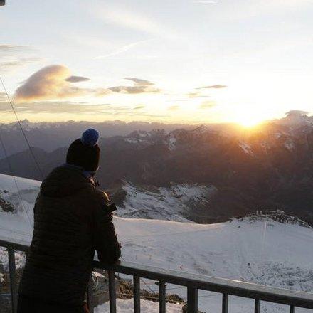 Sunset Klein Matterhorn Switzerland