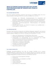 Kundenschulungen Programm 2020