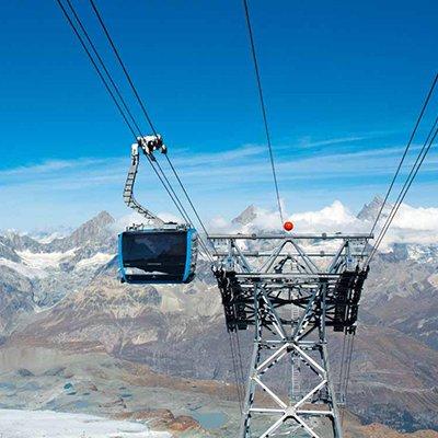 TD28 Matterhorn glacier ride