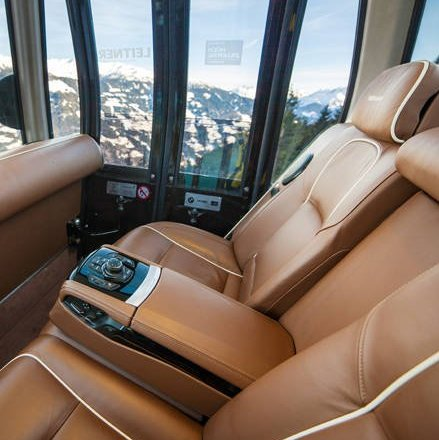 BMW Individual für LEITNER Innenraum