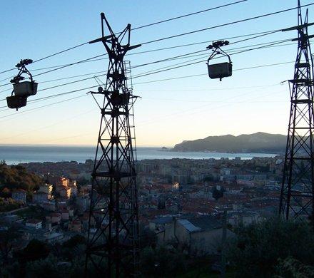 Teleférico para el Transporte de Materiales - Savona