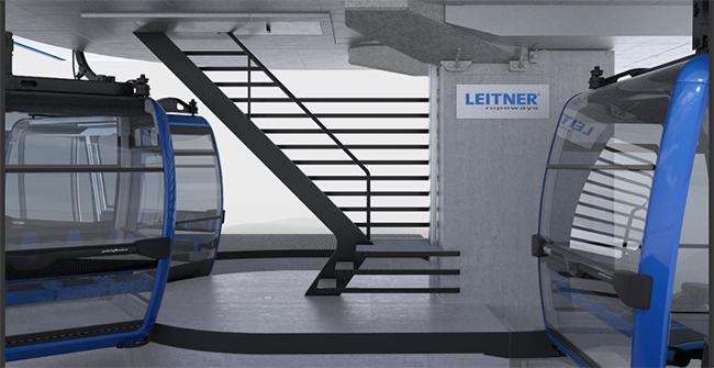 La escala Estación Premium