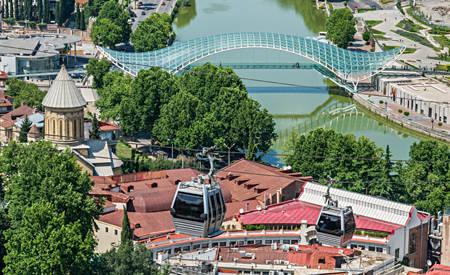Tbilisi ropeway Georgia