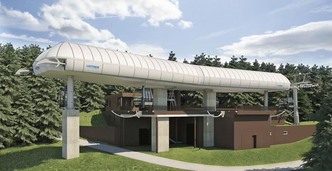 Cortina Cinque Torri middle station summer