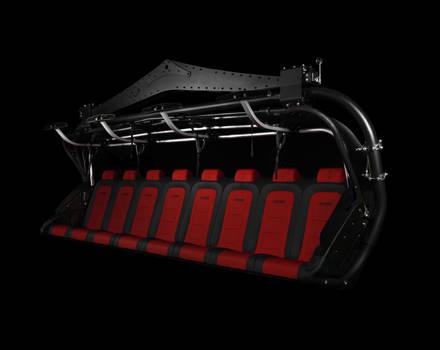 Premium Sessel rote Sitze