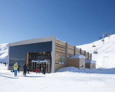 Alp Dado station inferieur Suisse