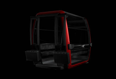 Cabine de Luxe Symphony 10 rouge