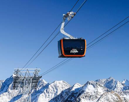Tricable gondola lifts Eisgratbahn