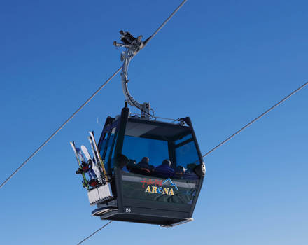 Monocable gondola lift