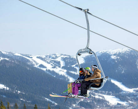 Fixed grip chairlifts