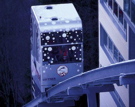 Les ascenseurs inclinés Innsbruck