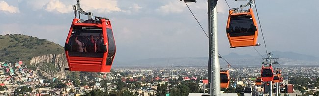 The first urban ropeway in Mexico