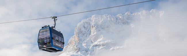 Technologie von LEITNER ropeways und Pininfarina Design für die neue Kabinenbahn Piz Seteur