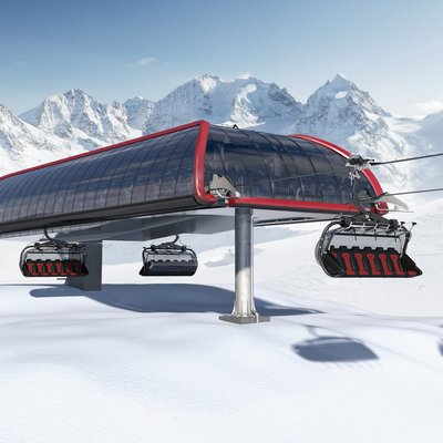 New LEITNER Station - Pininfarina Design