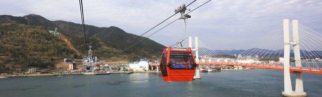 Il nuovo impianto bifune in Corea del Sud diventa un'attrazione turistica
