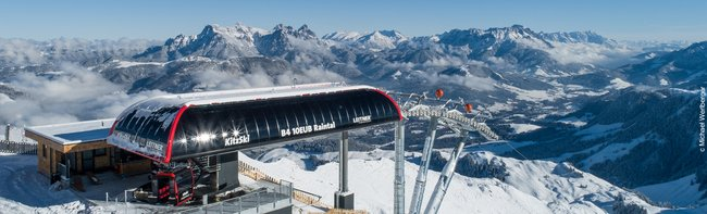 LEITNER ropeways adding momentum to Austria's ski resorts