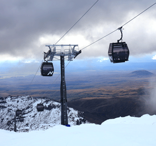 New ropeway on New Zealand's sacred Mãori mountain