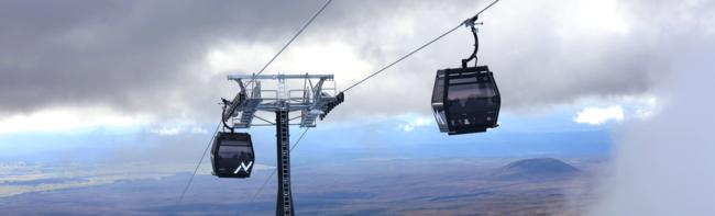 Neue Seilbahn auf Neuseelands heiligen Berg der Mãori