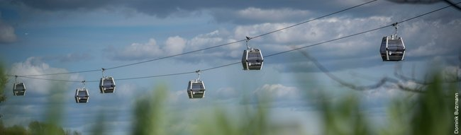Berlin ropeway successfully launched