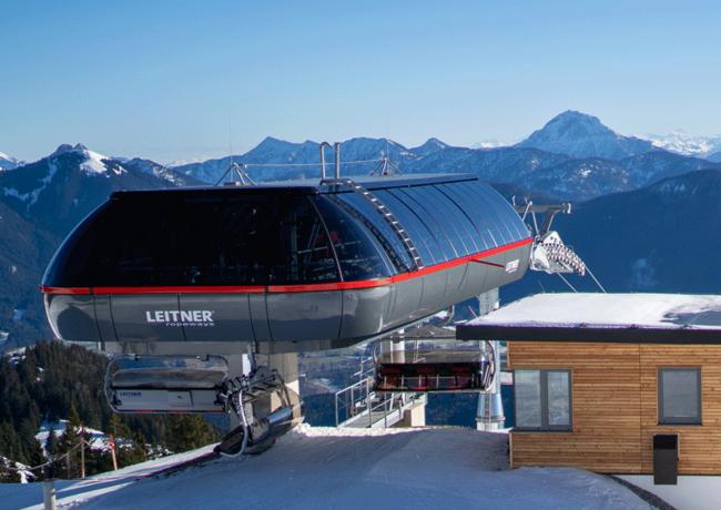 LEITNER ropeways baut in Bayerns Skigebieten kräftig aus