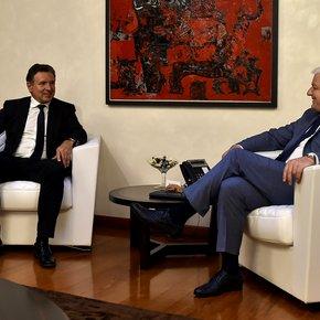 Martin Leitner with Montenegro's Prime Minister Duško Marković