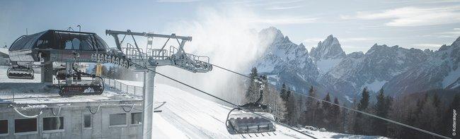 Italiens Skigebiete setzen massiv auf moderne Seilbahnprojekte