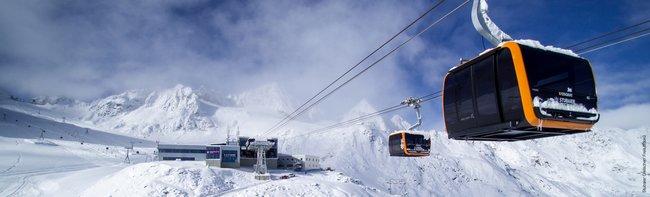 Die längste Dreiseilumlaufbahn in den Alpen
