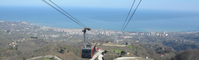 New ropeway highlight on the Black Sea coast
