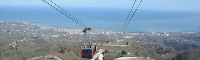 Nuova funivia nell'area del Mar Nero